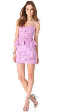 ADDISON  Shopbop.com  ADDISON Thompson Peplum Dress