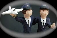 Wedding Cake Topper for Two Gay Men - video |  by http://www.magicmud.com 1 800 231 9814   $235 ..these two dashing men both pilot flying machines!!... talk about a high flying romance...  best wishes to these aerial acrobats ... a pleasure to create their same sex wedding cake topper #gay#samesex#same-sex#rainbow#homosexual#wedding #cake #toppers  #custom #personalized #Groom #bride #anniversary #birthday#weddingcaketoppers#cake toppers#figurine#gift#wedding cake toppers