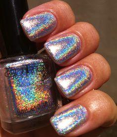 Glitter Gal - Silver 3D Holo