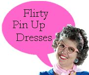 Flirty Pin Up Dresses