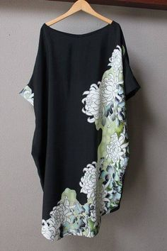 Kimono Fabric, Batik Dress, Kimono Dress, Kimono Top, Kimono Vintage, African Dresses For Kids, Latest African Fashion Dresses, Fashion Sewing, Kimono Fashion