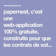 papernest, c'est une web-application 100% gratuite, construite pour que les contrats de votre déménagement se traitent à la vitesse de l'éclair.