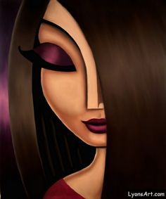Fun, cute portrait art oil paintings of women. Abstract Face Art, Urbane Kunst, Arte Pop, Portrait Art, Female Portrait, Art Oil, Rock Art, Female Art, Art Pictures