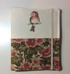 Book cover - cross stitch bird