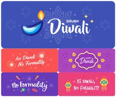 Iss Diwali, No Formality with Hike Blue Packets and New Stickers