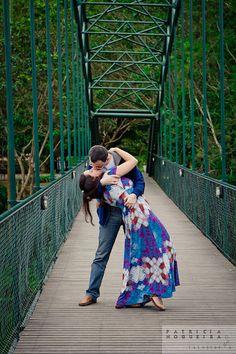 engagement session #engagement #love #couple #bridge