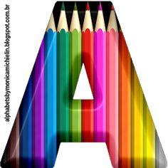 Printable Alphabet Letters, Letter Symbols, Monogram Alphabet, Alphabet And Numbers, Letter Art, Scrapbook Examples, Flowery Wallpaper, Studio Background Images, School Scrapbook