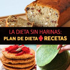 La dieta sin harinas: plan de dieta + recetas - La Guía de las Vitaminas Healthy Style, Healthy Life, Healthy Eating, Crockpot Recipes, Healthy Recipes, Sugar Free Recipes, Energy Bites, Sin Gluten, Paleo Diet