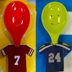 49ers vs Seahawks using our Happy Spoons!