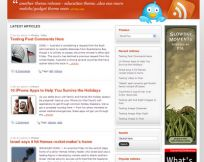 MinaFlow WordPress Theme