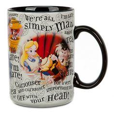 Alice in Wonderland Mug I must have this!!