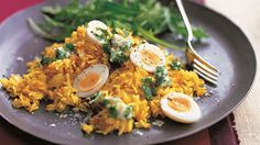 Kedgeree with Eggs and Tarragon Butter Recipe on Yummly