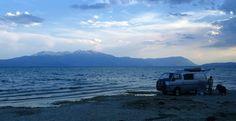 Campsite Lake Eğirdir-Turkey