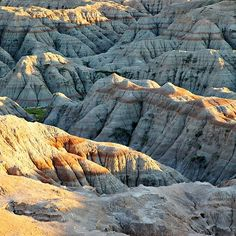 Evening at the Badlands