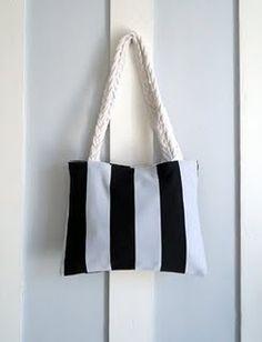 upcycled tshirt bag