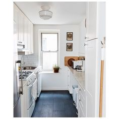 """Laura Fenton 🏠 on Instagram: """"Trying something new for @home52! No Space Too Small is my new column that celebrates the idea that you can live well in a small home. Each…"""" Small Space Living, Small Spaces, Small Space Kitchen, Mini Kitchen, Small Apartments, Kitchen Backsplash, Room Kitchen, Living Spaces, Armoire"""