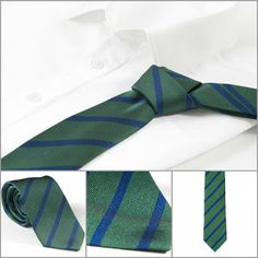 A tie can be your only sense of identity in a world of dark suits and dress shirts.  #necktie