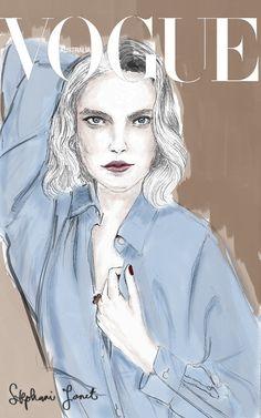 Fashion Model Portrait - Arizona Muse on Behance