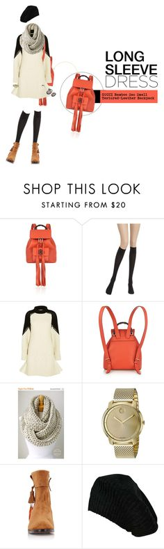 """JINGGA"" by meddyanka ❤ liked on Polyvore featuring Gucci, Wolford, Sacai, Movado, Aquazzura, Yohji Yamamoto and longsleevedress"