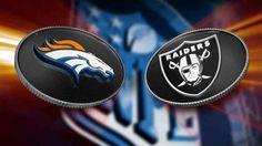 Denver Broncos vs Oakland Raiders Live Stream NFL