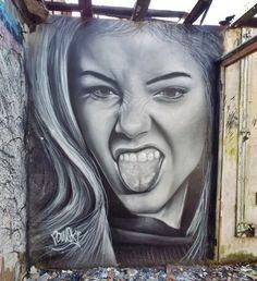streetartglobal:By @pawski_h2i in Sheffield, by @floss42 - http://globalstreetart.com/floss42#globalstreetart https://www.instagram.com/p/BDz3qT2AEIw/