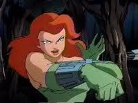 Poison Ivy, from Batman: The Animated Series. A graceful, lovely, devilish femme fatale. A part of me always wished she and Batman would just get together--if only she weren't so evil! Poison Ivy Comic, Dc Poison Ivy, Native American Costumes, Native American History, Native American Indians, Poison Ivy Character, People With Red Hair, Frozen Costume Adult, Female Villains
