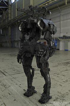 Military war machine.