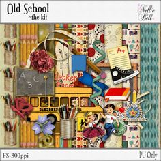 Nellie Bell's Digital Scrapbooking Freebies, April Showers, Paper Crafting, Old School, About Me Blog, Paper Engineering, Paper Crafts