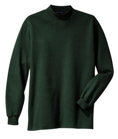 Port Authority Interlock Mock Turtleneck (K321) Available in 10 Colors