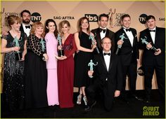 downton abbey at sag awards 2016 -