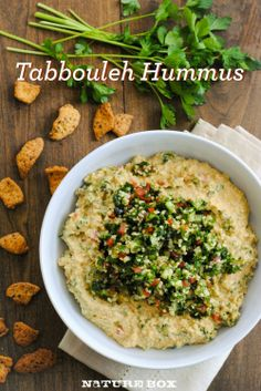 Tabbouleh hummus.....keep my hummus base, saved this for tabbouleh to use as variation.