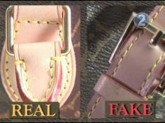 How do you know if a Louis Vuitton is fake?  Fake bags, fake Vuitton.