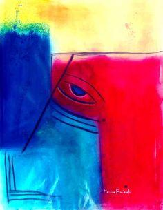 L'occhio blu