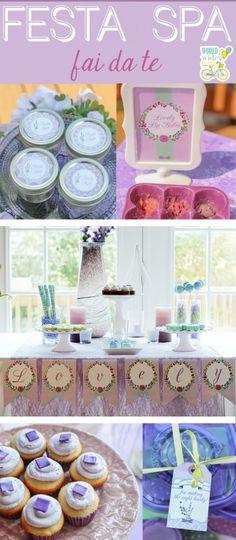 Lavender spa party