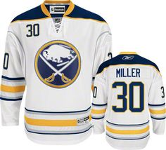 Buffalo Sabres Ryan Miller 30 White Authentic NHL Jersey Sale