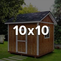 1000 images about new shed on pinterest storage sheds for 10x10 deck plans