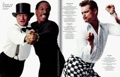Jim Carrey, Eddie Murphy, and the late Robin Williams