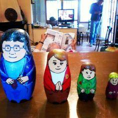 Nines ruses d l'ebre. Iaia, mare, germana i fillola. 4 generacions