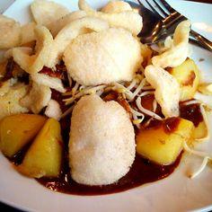 Indonesian Food: Tahu Gunting @FoodAvenue