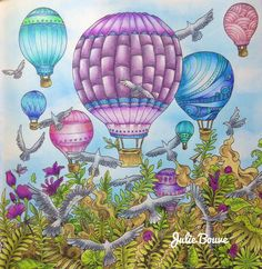 Imagimorphia Derwent inktense + blenderpen Colored by Julie Bouve