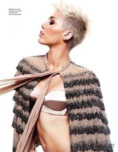 Miley Cyrus in ELLE UK