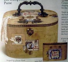 Cigar Box Purses Book from Hot Off the Press - Craft Books - Craft ...