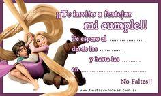 Tarjeta de cumpleaños de rapunzel-y-flynn