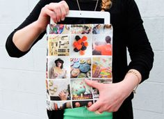 Turn Your Instagram Photos Into an iPad Case on Etsy. I don't even have an iPad, but this was too cool not to pin!
