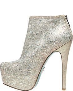 SB-BRIDE CHAMPAGNE women's evening high jeweled