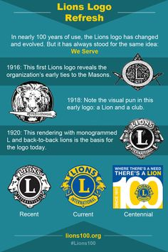 Lions Clubs logo refresh http://lions100.org