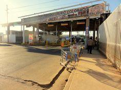 San Luis border crossing:)