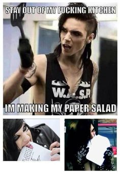 Black Veil Brides ~ Andy Biersack XD