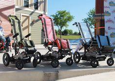Parque de diversão no Texas cria cadeira de rodas à prova d'água