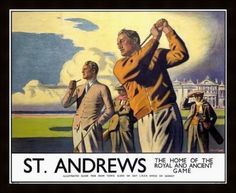 vintage golf posters - Google Search